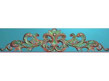 SJYH080-JDP格式欧式三角洋花精雕图三角洋花电脑雕刻图帽顶洋花精雕图(含灰度图)