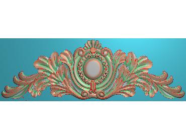 SJYH091-JDP格式欧式三角洋花精雕图三角洋花电脑雕刻图帽顶洋花精雕图(含灰度图)