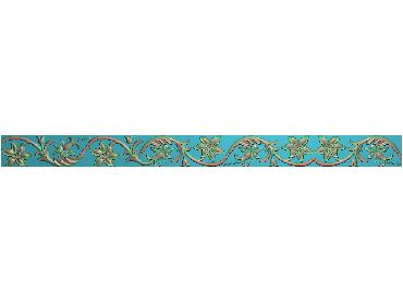 OSXH044-JDP格式欧式线花精雕图长条洋花精雕图石线边框雕刻图