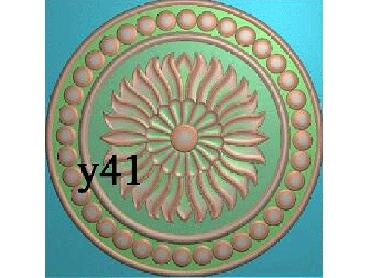 OUYH003-JDP格式欧式圆形洋花精雕图欧式圆洋花精雕图圆花灰度图圆花电脑雕刻图(含灰度图)