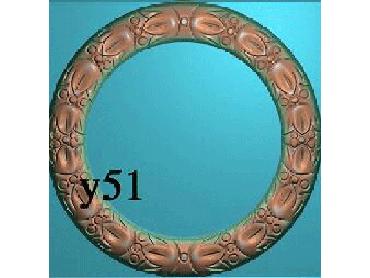 OUYH013-JDP格式欧式圆形洋花精雕图欧式圆洋花精雕图圆花灰度图圆花电脑雕刻图(含灰度图)