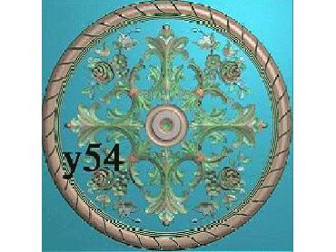 OUYH016-JDP格式欧式圆形洋花精雕图欧式圆洋花精雕图圆花灰度图圆花电脑雕刻图(含灰度图)