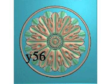 OUYH018-JDP格式欧式圆形洋花精雕图欧式圆洋花精雕图圆花灰度图圆花电脑雕刻图(含灰度图)
