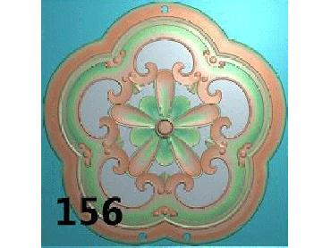 OUYH162-JDP格式欧式圆形洋花精雕图圆花电脑雕刻图欧式圆洋花精雕图