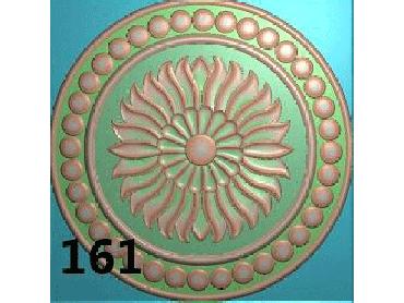 OUYH167-JDP格式欧式圆形洋花精雕图圆花电脑雕刻图欧式圆洋花精雕图