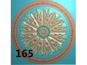 OUYH171-JDP格式欧式圆形洋花精雕图圆花电脑雕刻图欧式圆洋花精雕图