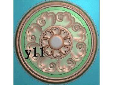 OUYH369-JDP格式欧式圆形洋花精雕图欧式圆洋花精雕图圆花灰度图圆花电脑雕刻图(含灰度图)