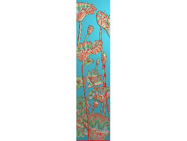 HE268-JDP格式中式荷花中式浮雕图植物花鸟鱼虫电脑雕刻图莲花精雕图(含灰度图)