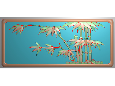 HC216-JDP格式中式四季花草中式浮雕图植物花鸟电脑雕刻图花草精雕图(含灰度图)