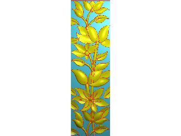 HC270-JDP格式中式四季花草中式浮雕图植物花鸟鱼虫电脑雕刻图花草精雕图
