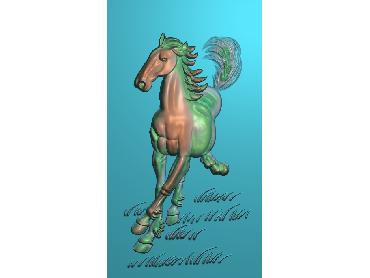 ZSJM010-JDP格式中式骏马浮雕图八骏图电脑雕刻图骏马精雕图