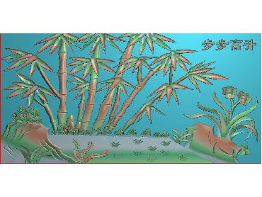 MLZJ016-JDP格式中式梅兰竹菊浮雕图花鸟鱼虫电脑雕刻图四君子精雕图