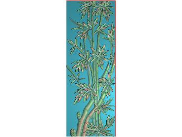 MLZJ096-JDP格式中式梅兰竹菊浮雕图花鸟鱼虫电脑雕刻图四君子精雕图