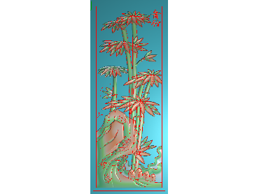 MLZJ101-JDP格式中式梅兰竹菊浮雕图花鸟鱼虫电脑雕刻图四君子精雕图
