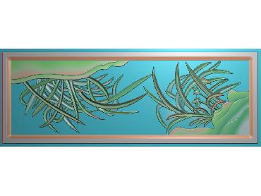 MLZJ103-JDP格式中式梅兰竹菊浮雕图花鸟鱼虫电脑雕刻图四君子精雕图
