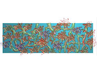 MLZJ123-JDP格式中式梅兰竹菊浮雕图花鸟鱼虫电脑雕刻图四君子精雕图