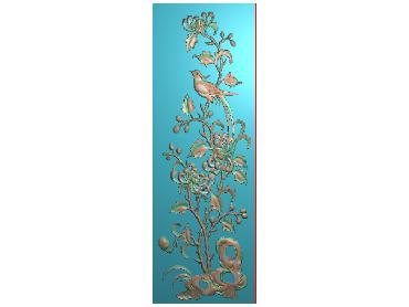 MLZJ145-JDP格式中式梅兰竹菊浮雕图花鸟鱼虫电脑雕刻图四君子精雕图
