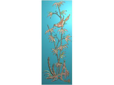 MLZJ148-JDP格式中式梅兰竹菊浮雕图花鸟鱼虫电脑雕刻图四君子精雕图