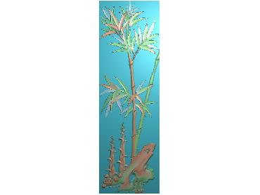 MLZJ155-JDP格式中式梅兰竹菊浮雕图花鸟鱼虫电脑雕刻图四君子精雕图