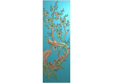 MLZJ159-JDP格式中式梅兰竹菊浮雕图花鸟鱼虫电脑雕刻图四君子精雕图