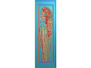 MLZJ214-JDP格式中式梅兰竹菊浮雕图花鸟鱼虫电脑雕刻图四君子精雕图