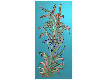 MLZJ219-JDP格式中式梅兰竹菊浮雕图花鸟鱼虫电脑雕刻图四君子精雕图