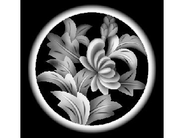 MLZJ303-JDP格式梅兰竹菊镂空浮雕精雕图中式镂空花草电脑雕刻图花草镂空浮雕灰度图(含灰度图)