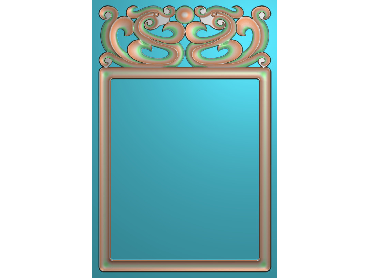 QTZS018-JDP格式中式浮雕图中式浮雕电脑雕刻图中式浮雕精雕图(含灰度图)