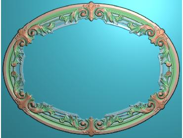 SXBK012-JDP格式中式边框电脑雕图石线精雕图边框精雕图中式相框精雕图(含灰度图)