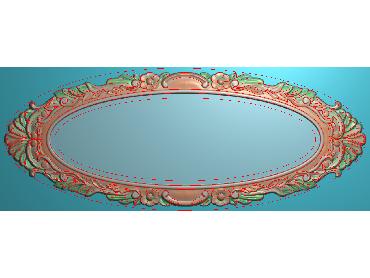 SXBK013-JDP格式中式边框电脑雕图石线精雕图边框精雕图中式相框精雕图(含灰度图)