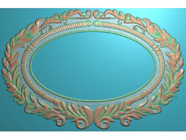 SXBK027-JDP格式中式边框电脑雕图石线精雕图边框精雕图中式相框精雕图(含灰度图)