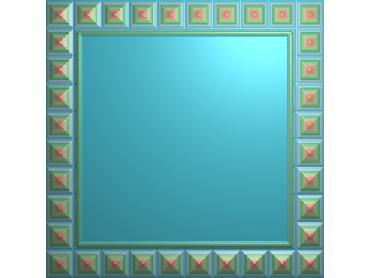 SXBK030-JDP格式中式边框电脑雕图石线精雕图边框精雕图中式相框精雕图(含灰度图)