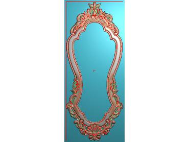 SXBK033-JDP格式中式边框电脑雕图石线精雕图边框精雕图中式相框精雕图(含灰度图)