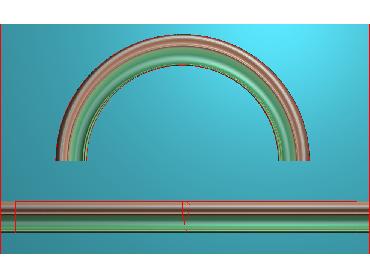 SXBK044-JDP格式中式边框电脑雕图石线精雕图边框精雕图中式相框精雕图(含灰度图)