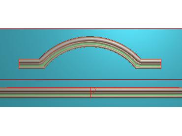 SXBK045-JDP格式中式边框电脑雕图石线精雕图边框精雕图中式相框精雕图(含灰度图)