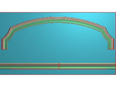 SXBK047-JDP格式中式边框电脑雕图石线精雕图边框精雕图中式相框精雕图(含灰度图)