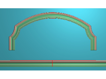SXBK048-JDP格式中式边框电脑雕图石线精雕图边框精雕图中式相框精雕图(含灰度图)