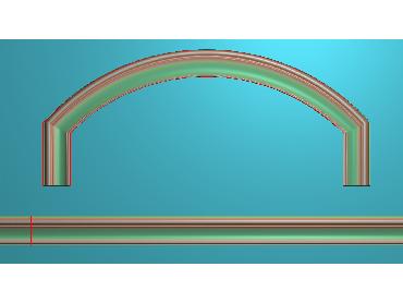 SXBK050-JDP格式中式边框电脑雕图石线精雕图边框精雕图中式相框精雕图(含灰度图)