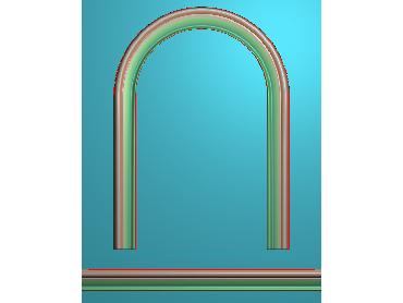 SXBK052-JDP格式中式边框电脑雕图石线精雕图边框精雕图中式相框精雕图(含灰度图)
