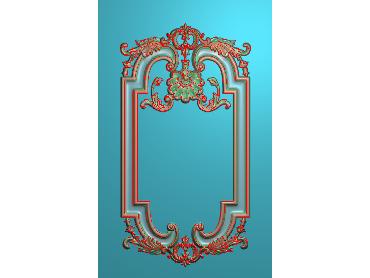 SXBK059-JDP格式中式边框电脑雕图石线精雕图边框精雕图中式相框精雕图(含灰度图)