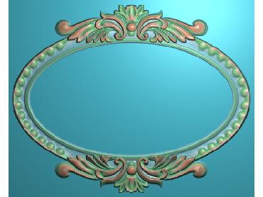 SXBK061-JDP格式中式边框电脑雕图石线精雕图边框精雕图中式相框精雕图(含灰度图)