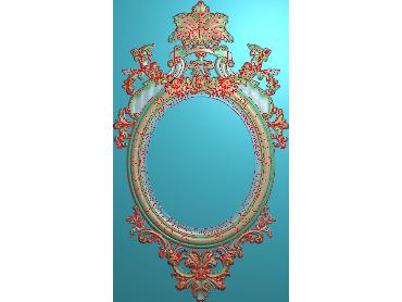 SXBK074-JDP格式中式边框电脑雕图石线精雕图边框精雕图中式相框精雕图(含灰度图)