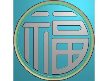 ZSYH025-JDP格式中式圆形浮雕图圆形洋花电脑雕刻图中式圆花精雕图圆花灰度图