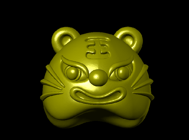 3DDW436-STL格式虎虎生威三维立体圆雕图虎虎生威3D打印模型虎虎生威3D雕刻图案虎虎生威立体精雕图下载