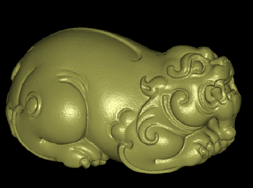 3DDW487-STL格式貔貅三维立体圆雕图貔貅3D打印模型貔貅3D雕刻图案貔貅立体精雕图下载