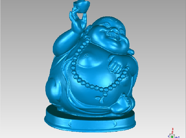 3DFO313-STL格式招财进宝弥勒佛三维立体圆雕图招财进宝弥勒菩萨3D打印模型招财进宝弥勒3D雕刻图案招财进宝弥勒立体精雕图下载