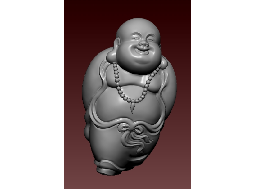 3DFO340-STL格式佛修三维立体圆雕图佛修3D打印模型佛修3D雕刻图案佛修立体精雕图下载