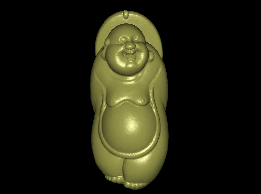 3DFO358-STL格式弥勒佛吊坠三维立体圆雕图弥勒菩萨吊坠3D打印模型弥勒佛吊坠3D雕刻图案弥勒佛吊坠立体精雕图下载
