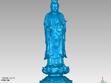 3DFO369-STL格式高庄站观音精品三维立体圆雕图高庄站观音精品3D打印模型高庄站观音精品3D雕刻图案高庄站观音精品立体精雕图下载
