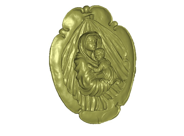 3DFO446-STL格式佛像三维立体圆雕图佛像3D打印模型佛像3D雕刻图案佛像立体精雕图下载